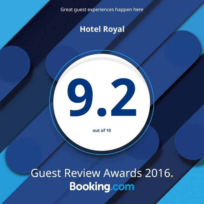 Hotel Royal Guest Review Awards